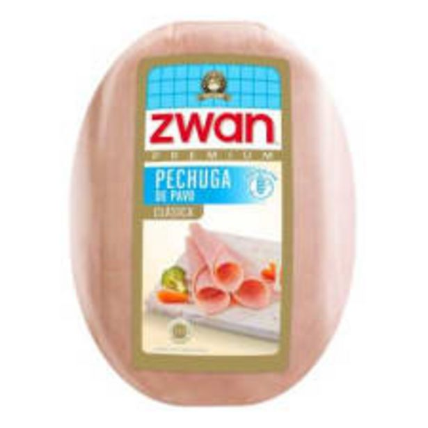 Oferta de Pechuga de pavo Zwan premium clásica por kg por $226