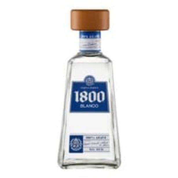 Oferta de Tequila 1800 blanco reserva 700 ml por $299