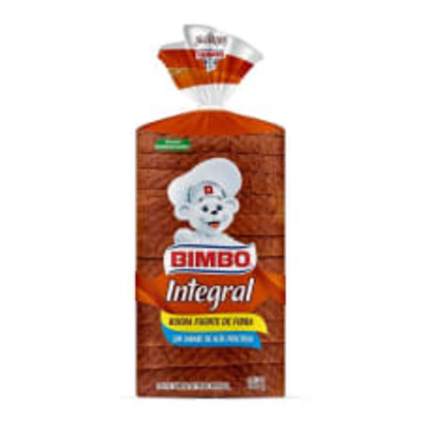 Oferta de Pan integral Bimbo 480 g por $38.5