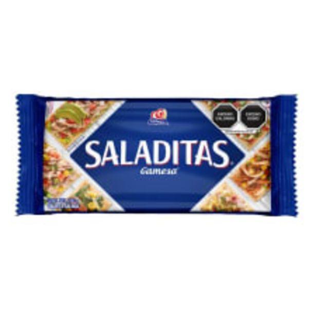 Oferta de Galletas Gamesa Saladitas 186 g por $17.5