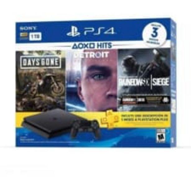 Oferta de Consola PlayStation 4 Slim Hits 1TB Con 3 Juegos - Bundle Edition por $6590