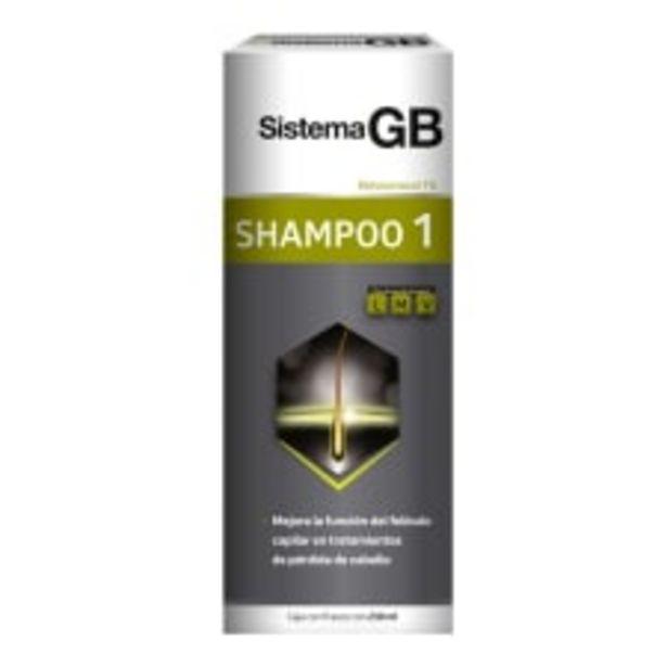 Oferta de Shampoo Sistema GB uno para hombre 230 ml por $109
