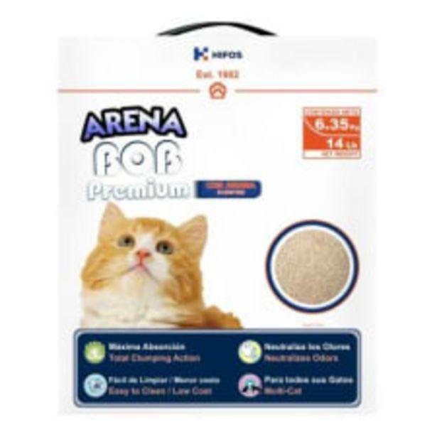 Oferta de Arena para gato BOB Numi Cat Premium con Aroma 6.35 kg por $120