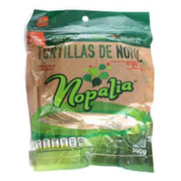 Oferta de Tortillas de nopal Nopalia 500 g por $33