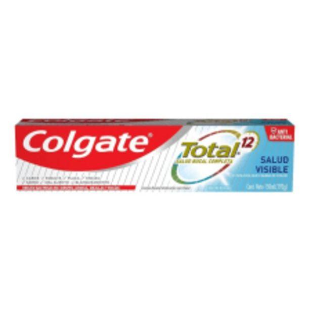 Oferta de Crema dental Colgate Total 12 salud visible 150 ml por $55.5