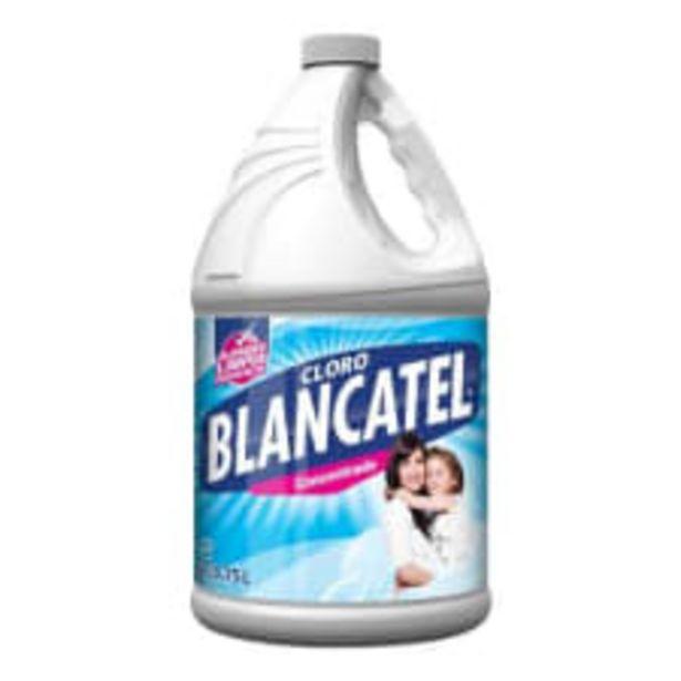 Oferta de Cloro Blancatel regular 3.75 l por $31.5