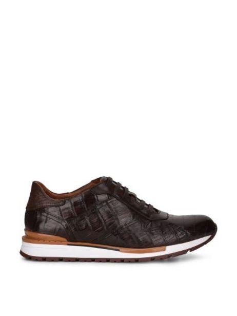 Oferta de Sneakers en piel genuina de caimán por $5526.5