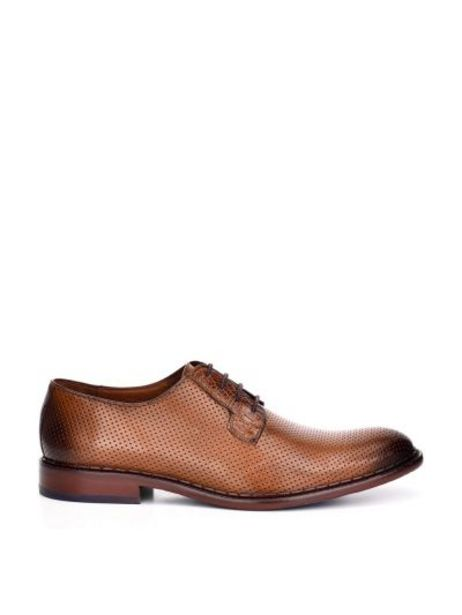 Oferta de Calzado para caballero en piel genuina por $1767