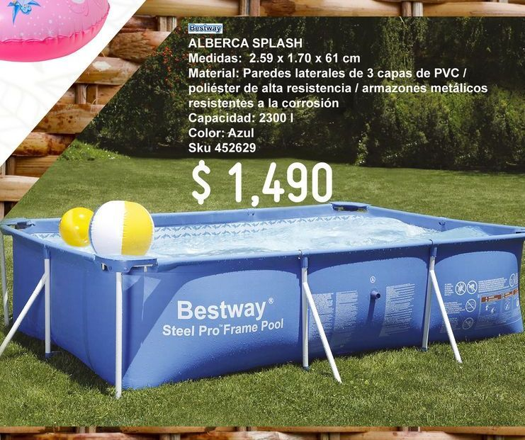 Oferta de Alberca Bestway por $1490