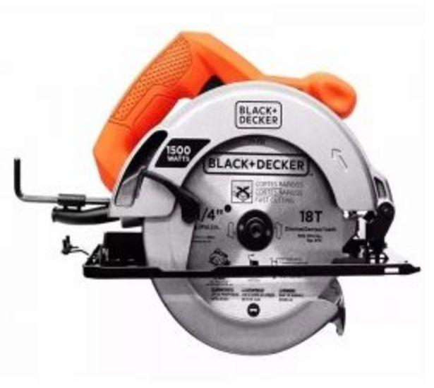 Oferta de Black & Decker Sierra Circular Cs1024-B3 600 watts por $1570