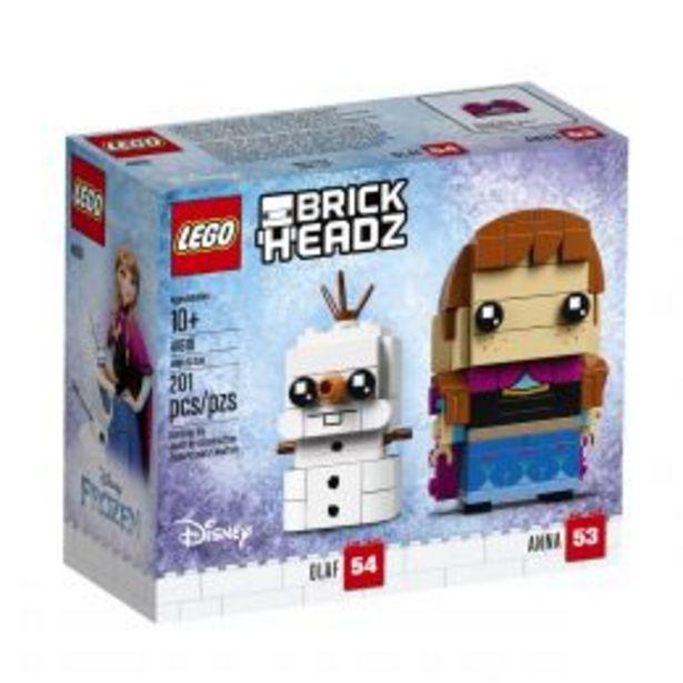 Oferta de Brickheadz Anna & Olaf Lego por $199