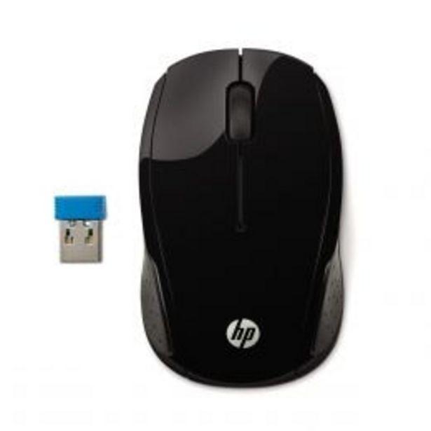 Oferta de Mouse 200 Inalámbrico Negro Hp por $209