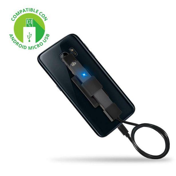 Oferta de Redlemon Cable De Carga Micro Usb Para Juul, Con Soporte De Silicón Adherible Para Smartphone por $199