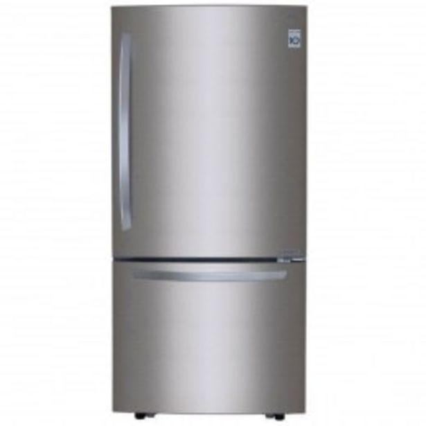 Oferta de Refrigerador Lg Button 22 Pies  Inverte Acero por $18059