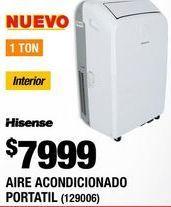 Oferta de Aire acondicionado portátil Hisense por