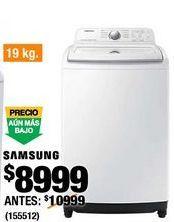 Oferta de Lavadoras Samsung por