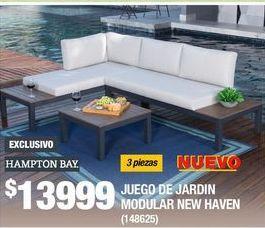 Oferta de Muebles de jardín Hampton Bay por