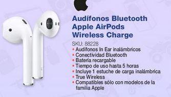 Oferta de Audífonos intreuditivos Apple por