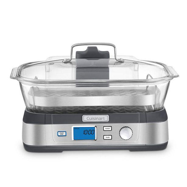 Oferta de Vaporera Digital Cuisinart 5 lts STM-1000ES por $3237