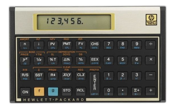 Oferta de HP CALCULADORA FINANCIERA HP 12C por $1950