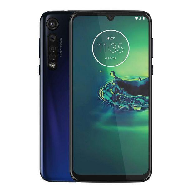 Oferta de Motorola Moto G8 Plus 64GB Telcel - Azul Nocturno por $6164