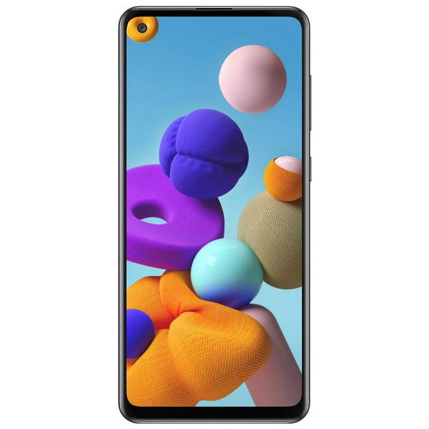 Oferta de Samsung Galaxy A21S 64GB AT&T - Negro por $4799