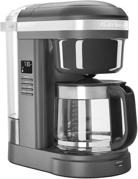 Oferta de Cafetera KitchenAid KCM1208DG Gris Carbón 34 cm por $3439