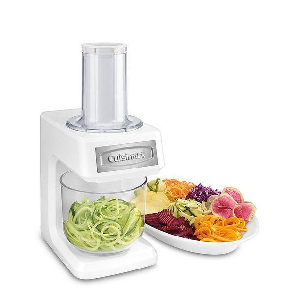 Oferta de Rayador Eléctrico Cuisinart Spiralizer PrepExpress 5 Tazas Blanco por $1097