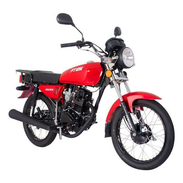 Oferta de Motocicleta de Trabajo Italika FT125 Roja por $18499
