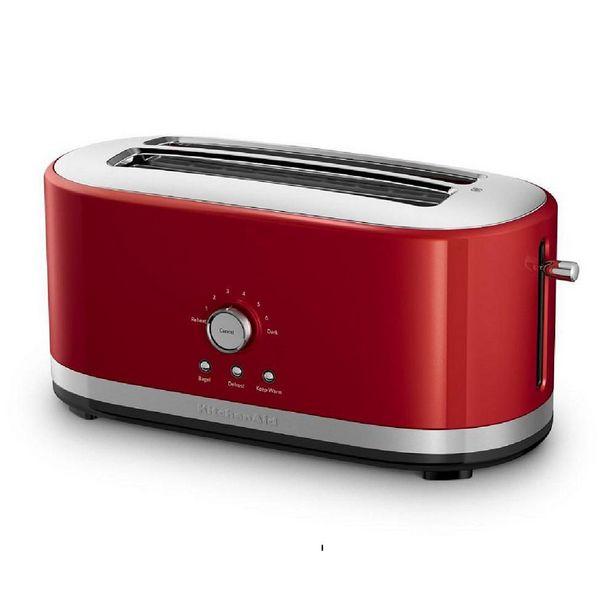 Oferta de Tostador Eléctrico KitchenAid KMT4116ER 4 Rebanadas Empire Red por $2399