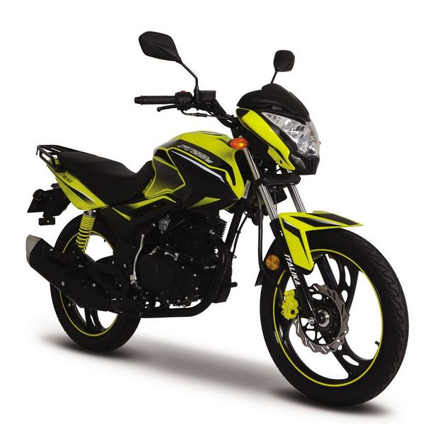 Oferta de Motocicleta de Trabajo Italika FT200 TS Amarilla con Negro por $25999