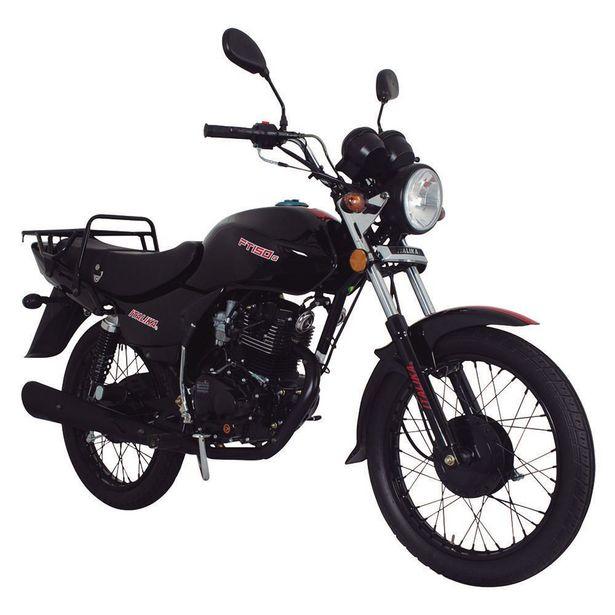 Oferta de Motocicleta de Trabajo Italika FT150G Negra por $18499