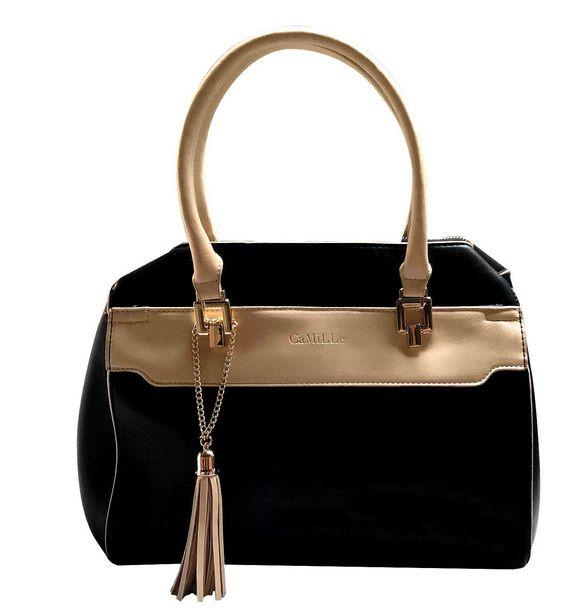 Oferta de Bolsa Satchel Bolso de Mano Mujer Dama Moda por $589