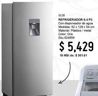 Oferta de Refrigeradores Igloo por $5429