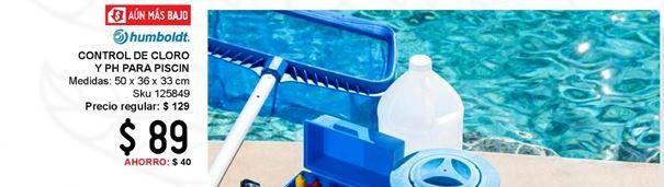 Oferta de Control de cloro y PH para piscina por $89