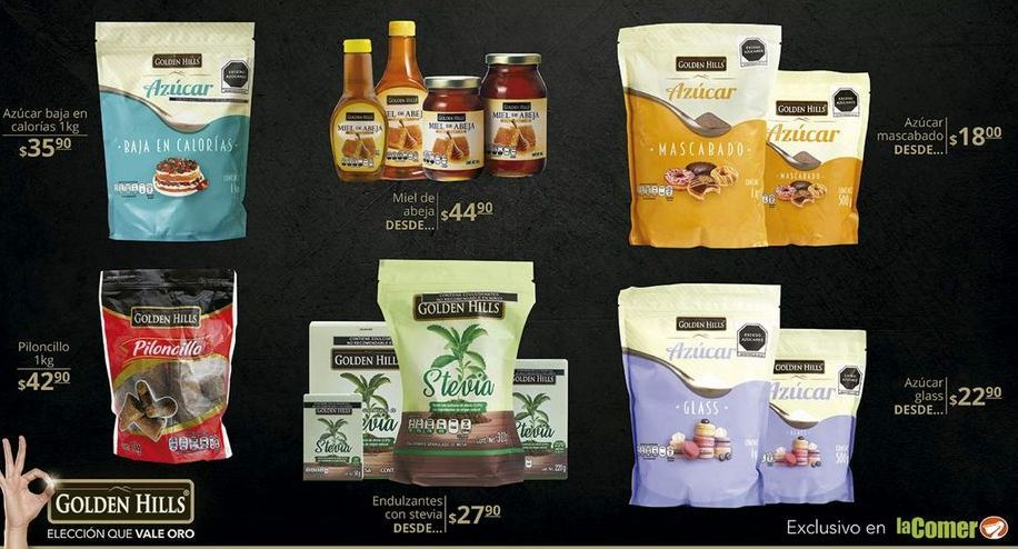 Oferta de Azúcar Golden Hills por