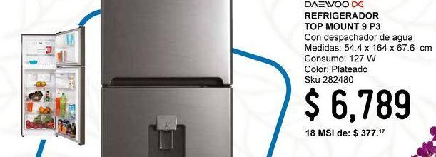 Oferta de Refrigeradores Daewoo por $6789