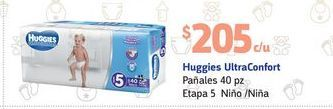 Oferta de Pañales Huggies por $205
