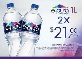 Oferta de Agua epura por $21