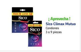 Oferta de Condones Sico por