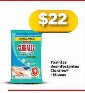 Oferta de Toallitas de limpieza Cloralex por $22
