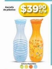 Oferta de Garrafa de plástico por $39.9