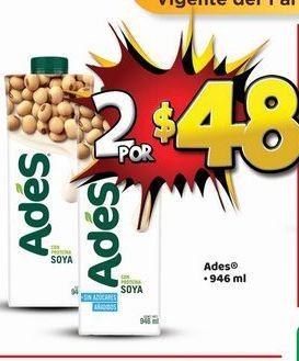 Oferta de Jugos Ades por $48