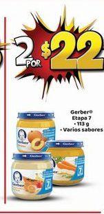 Oferta de Papilla Gerber por $22