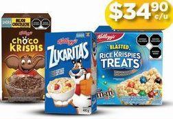 Oferta de Cereales infantiles Zucaritas por $34.9