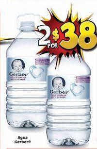 Oferta de Agua Gerber por $38