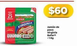 Oferta de Jamón de pavo Bafar por $60