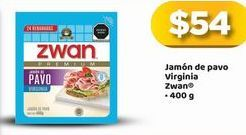 Oferta de Jamón de pavo Zwan por $54