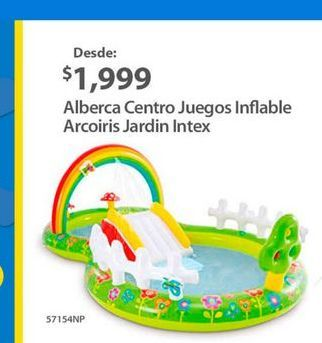 Oferta de Alberca hinchable Intex por $1999