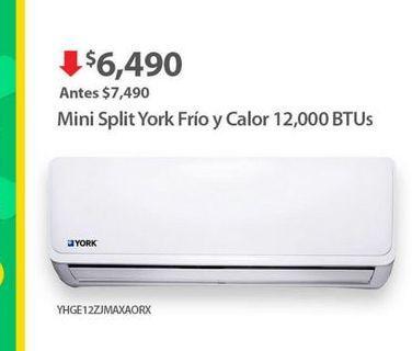 Oferta de Aire acondicionado York por $6490